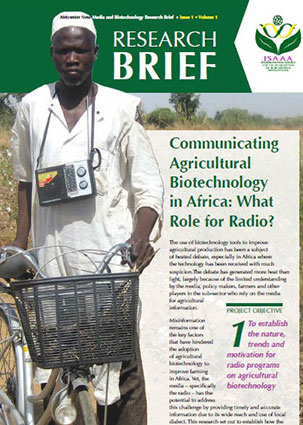 Communicating Agricultural Biotechnology in Africa: What Role for Radio