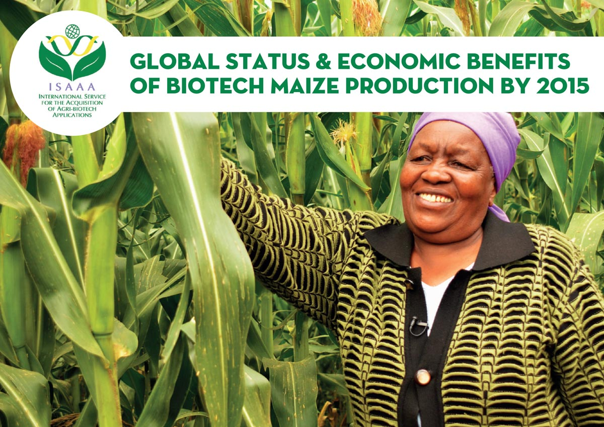 Global Status & Economic Benefits of Biotech Maize Production By 2015