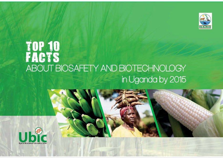 Top Ten Facts about Biotechnology and Biosafety in Uganda by 2015