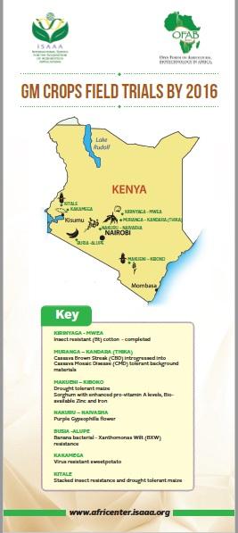 GM Crops Field Trials in Kenya by 2016