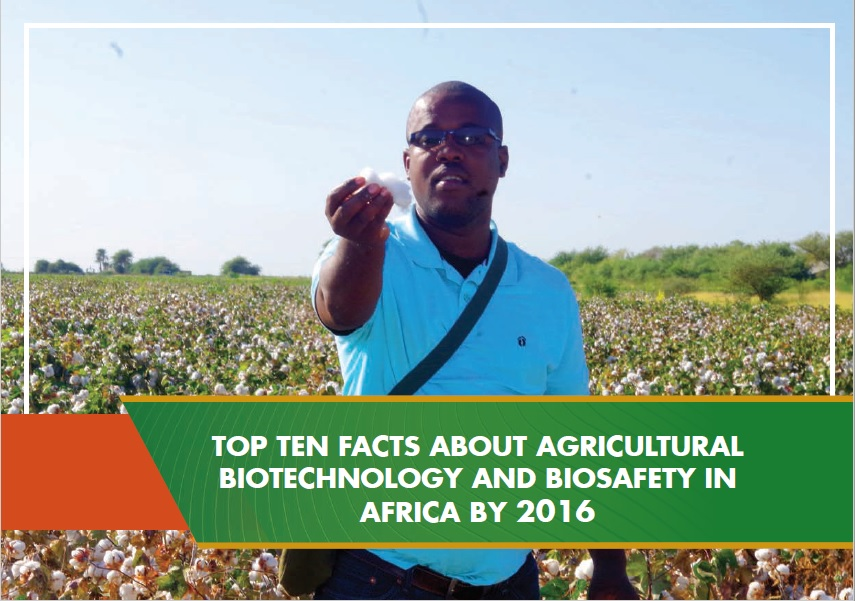 Top Ten Facts about About Agricultural Biotechnology and Biosafety in Africa by 2016