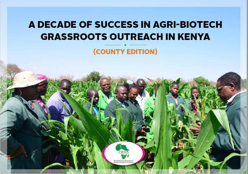 A Decade of Success in Agri-Biotech Grassroots Outreach in Kenya – County Edition