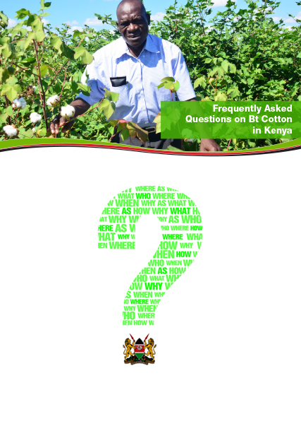 FAQs on Bt Cotton in Kenya