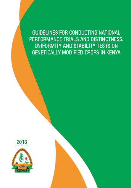 Guidelines for Conducting National Performance Trials in Kenya