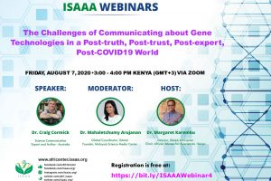Webinar: The Challenges of Communicating about Gene Technologies