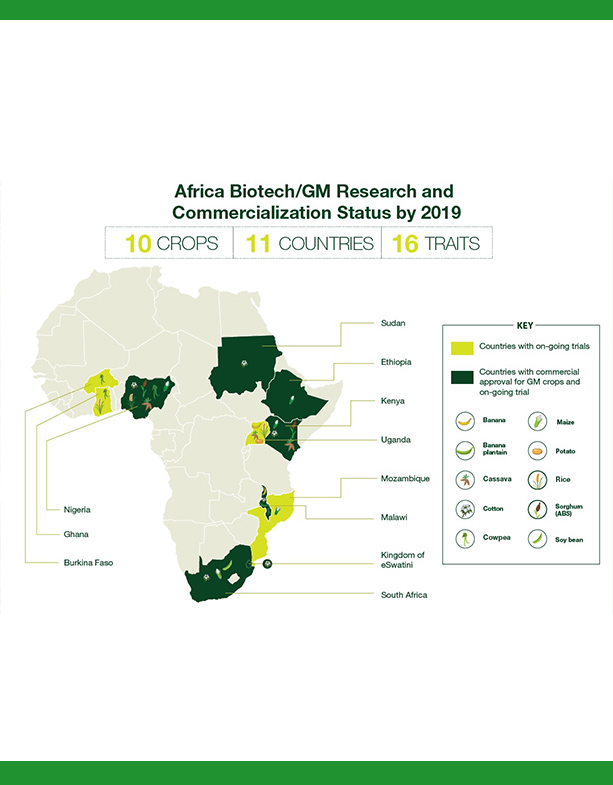 Africa Biotech Research and Commercialization Status by 2019