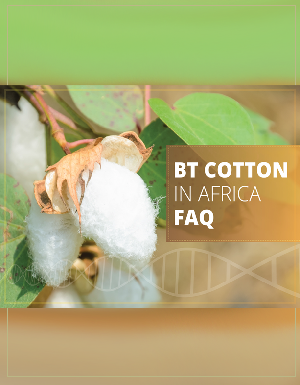 Faqs about BT Cotton in Africa
